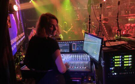 Ljudtekniker på konsert